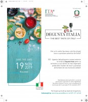 DEGUSTA ITALIA - BUCAREST 19 NOVEMBRE 2019